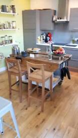 Table work benches kitchen island