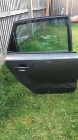 VW POLO 2016 grey rear right door breaking part (driver side)