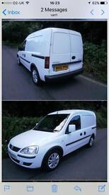 Vauxhall Combo Van cash or swap