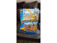 LEGO CITY CONSTRUCTION COLLECTION ALL BOXES COMPLETE AND WITH INSTRUCTIONS IN ORIGINAL PKTS