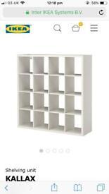 Kallax 16 unit storage