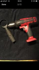 Snap on cdr7850 lithium iron drill boby 18v