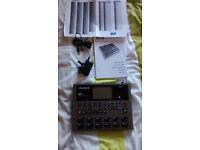 Alesis SR18 Drum Machine MINT BARGAIN BOXED/PSU/MANUAL