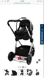Mothercare journey frame & car seat