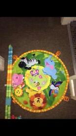 Jungle playmat
