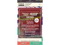 Truck festival weekend family camping tickets