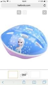 New frozen helmet for girls