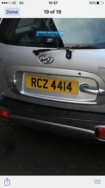 Reg for sale RCZ4414