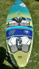 Fanatic Quad TE 89L windsurf board