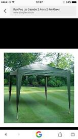 Gazebo all complete great for fetes boot fits family BBQ etc