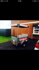Factory built Burger and hot dog trailer for sale (catering trailer)
