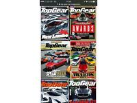 Collection early Top Gear car magazines 1-150 consecutive