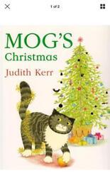 Mog's christmas paperback book