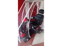 Envoy Mobility Scooter under a year old with Canopy in excellent condition as bearly used