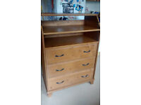 Ikea dictad chest of drawers / changing table