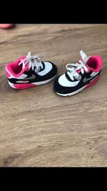 Girls Nike Air Max (Infant)