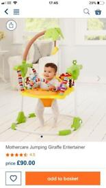 Mothercare jungle jumperoo
