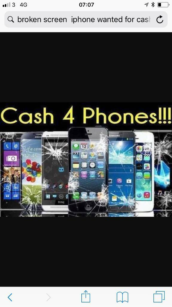 Sale you old phone fast cash work or nonworking Faulty