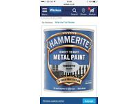 Wanted hammerite silver