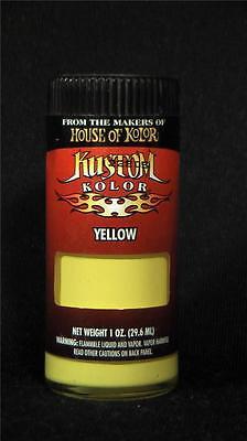 House of Kolor YELLOW Kustom Airbrush Paint auto art hobby c