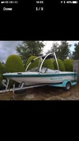 Mastercraft pro star 190 boat converted to gas