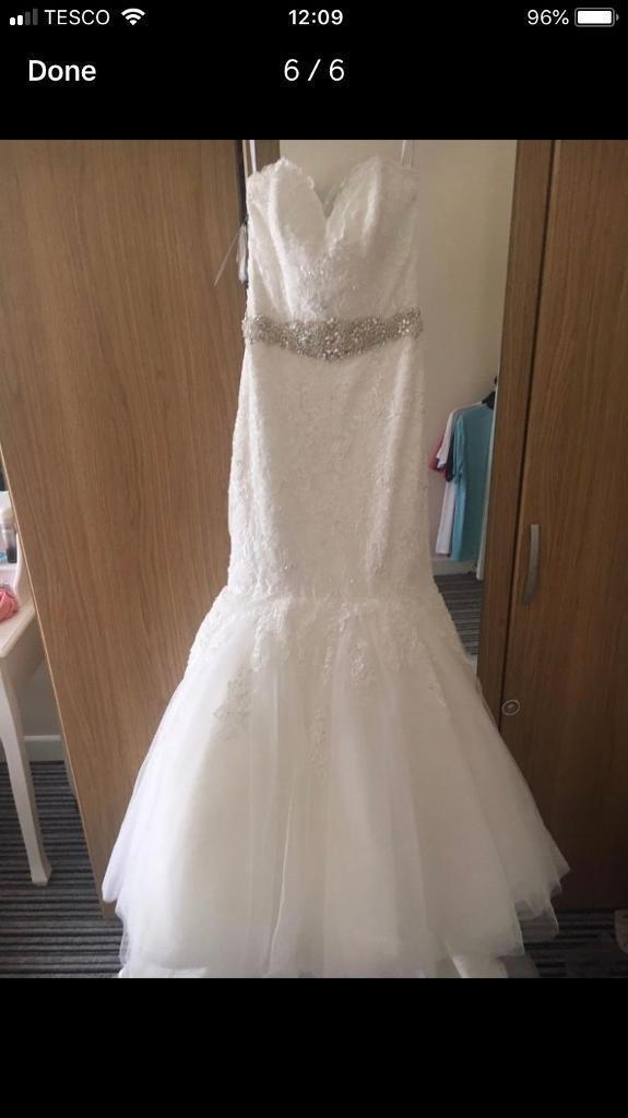 df59a1595138 Alfred Angelo wedding dress size 8 | in Llansamlet, Swansea | Gumtree