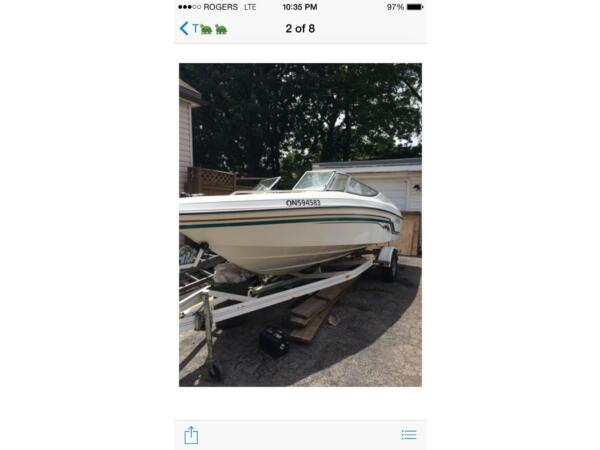 Used 1998 Rinker Boat Co Bow Rider