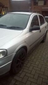 2002 Vauxhall Astra 1.4 ls sports 5door