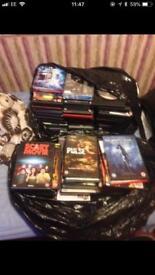 100 + dvds