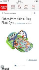 Piano playmat