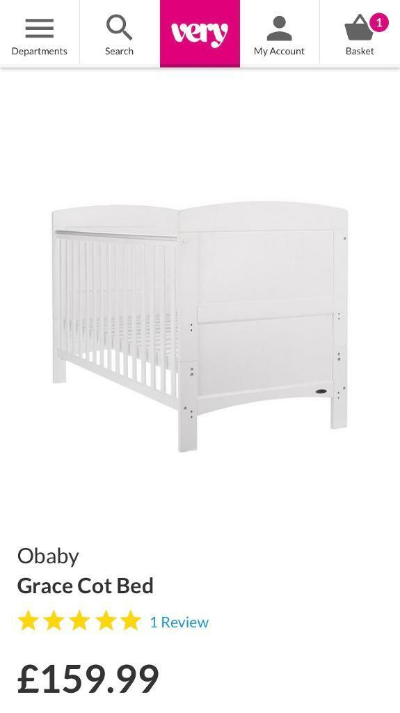 Obaby Cot Bed FRAME ONLY | in Guildford, Surrey | Gumtree