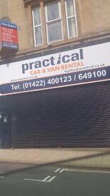 Town centre retail business