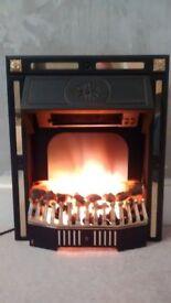 Glenlomond Ltd Electric Fire Good Condition Excellent Heat Bargain