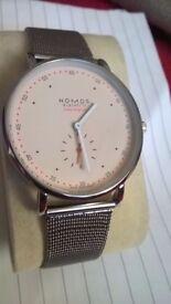 Designer Nomos dress / businessmans watch. New. Exquisite!!!