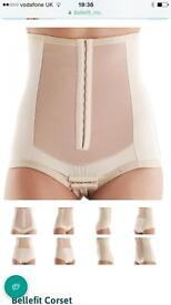 Maternity support corset