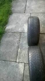 10inch alloy wheels