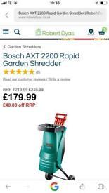 Garden shredder