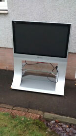"37"" Panasonic plasma HD TV with stand"