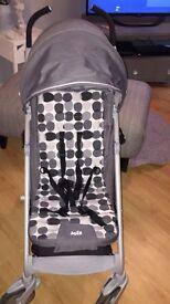 Joie brisk pushchair