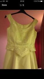 Romantica Wedding Dress & 3 Bridesmaid Dresses