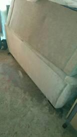 Two 2 seat sofas