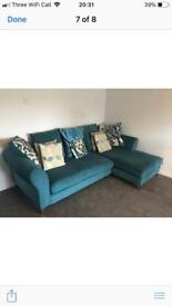 Corner suite and cushions