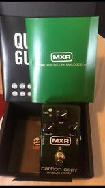 MXR Carbon copy analog delay guitar pedal