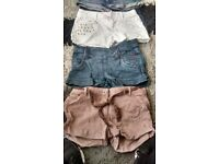 Girls shorts age 12 from smoke and pet free home collection only from meadows