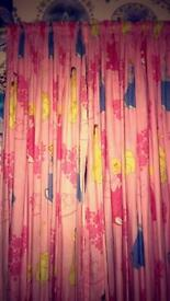 Curtain girls bedroom great condition