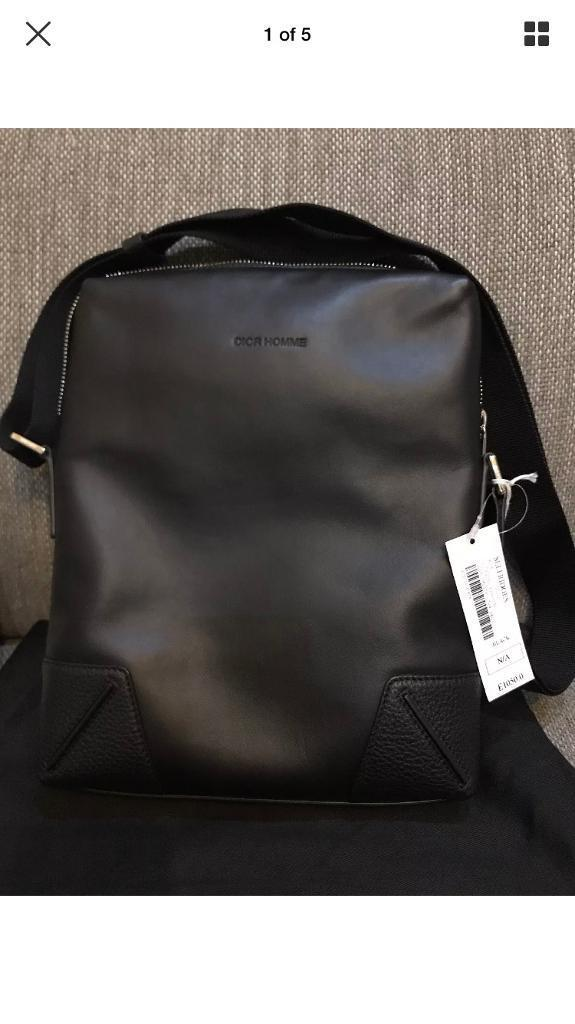 Dior Homme Selfridges Men S Calfskin Leather Bag
