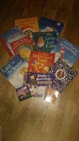 Christmas Themed Books x12