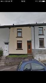 2 bed house to rent in Gwernllwyn Terrace, Tylorstown