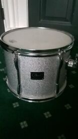 Pearl Export Tom Silver Sparkle 13 x 11