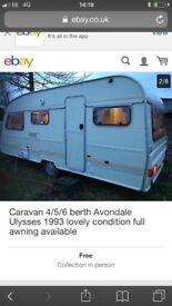 Caravan 4/5/6 berth Avondale Ulysses 1993